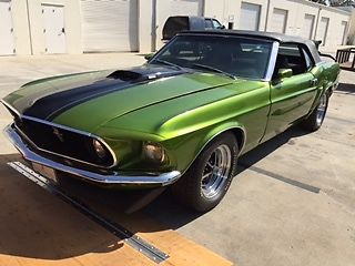1969 Ford Mustang CONVERTABLE