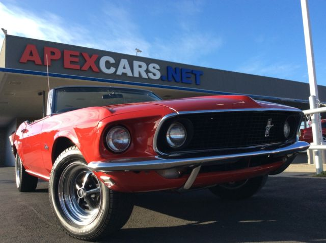 1969 Ford Mustang Convertible California Classic for sale: photos