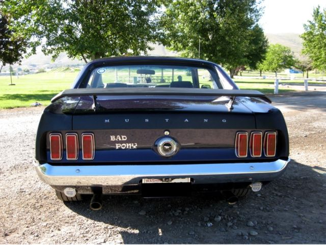 1969 ford mustang condition used - 1969 Ford Mustang Coupe