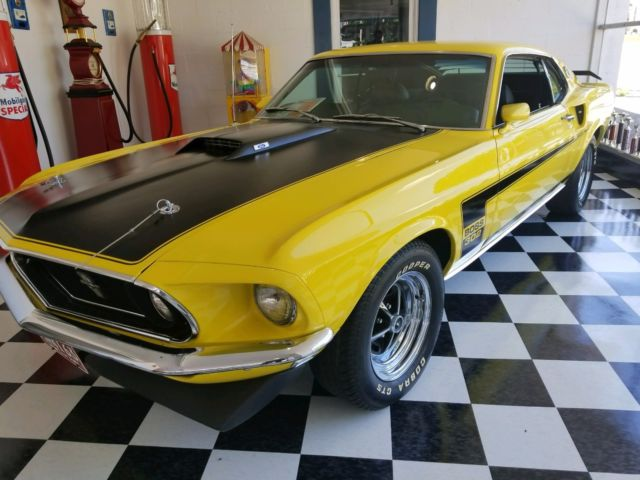 1969 Ford Mustang Base Fastback 2-Door