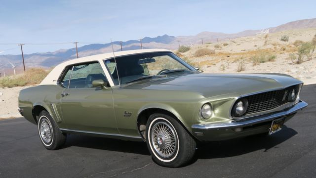 1969 Ford Mustang GRANDE 351 V8 H CODE! FULLY OPTIONED! AC/DISC/ P/S