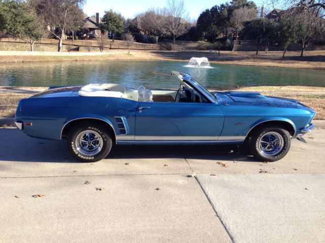 1969 ford mustang gt convertible for sale photos technical specifications description. Black Bedroom Furniture Sets. Home Design Ideas