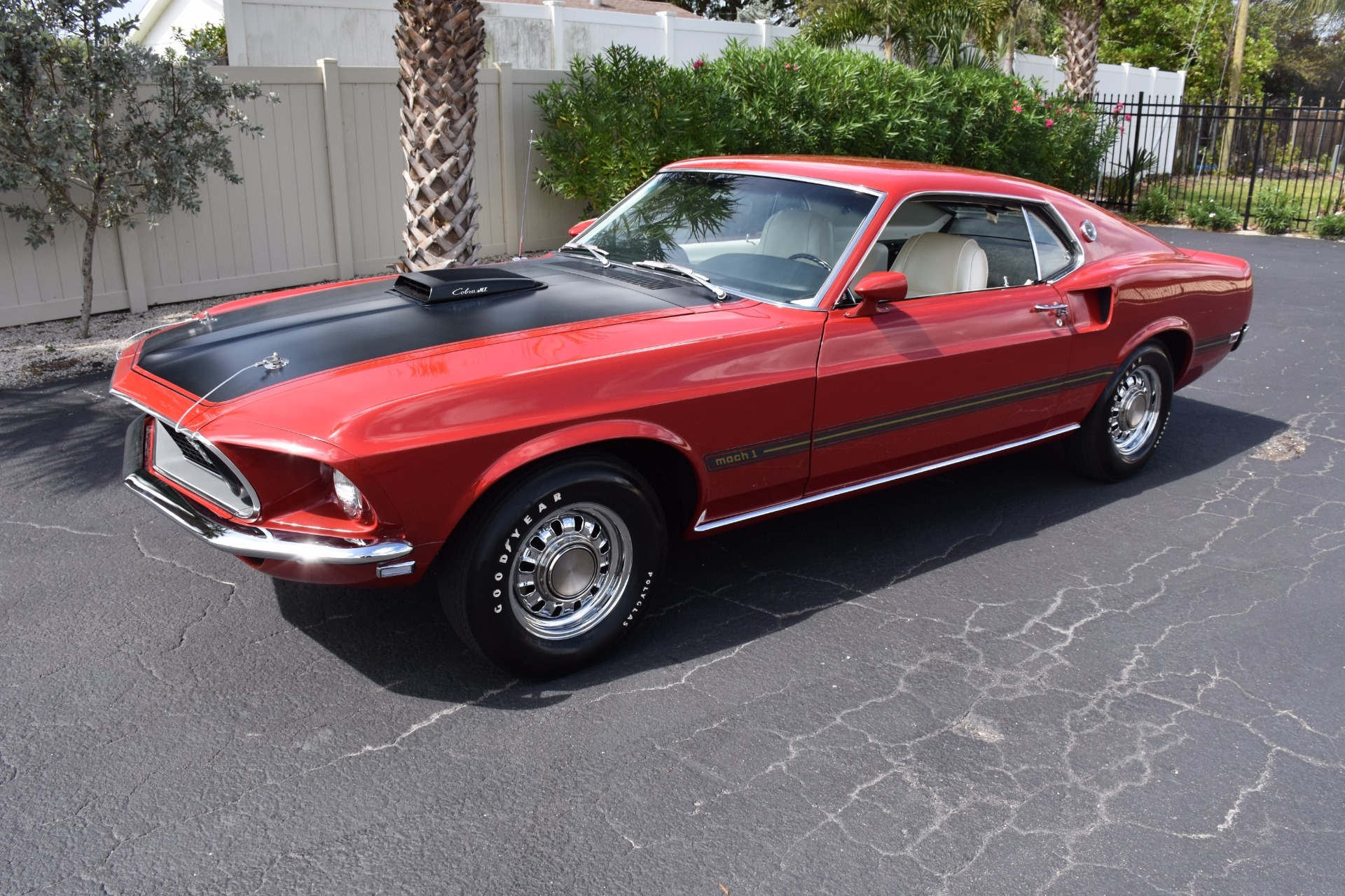 1969 Ford Mustang Mach 1 428 Cobra Jet 0 Candy Apple Red Coupe 1971 For Sale 428ci J