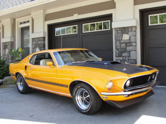 1969 ford mustang mach 1 fastback modified 351 4spd for sale photos technical specifications. Black Bedroom Furniture Sets. Home Design Ideas