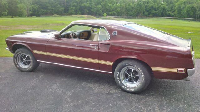 1969 ford mustang mach 1 r code 428 cobra jet 4 speed for. Black Bedroom Furniture Sets. Home Design Ideas