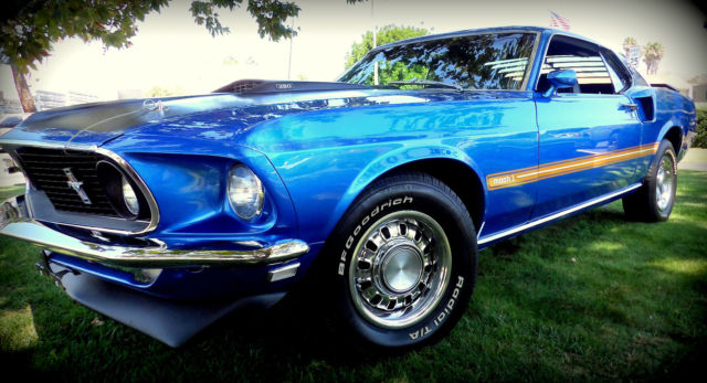 1969 Ford Mustang fastback sport coupe