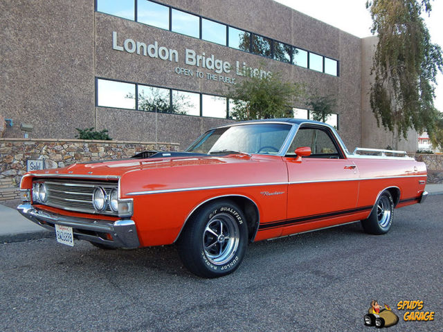 1969 Ford Ranchero 1 of 816 Rio Grande Edition