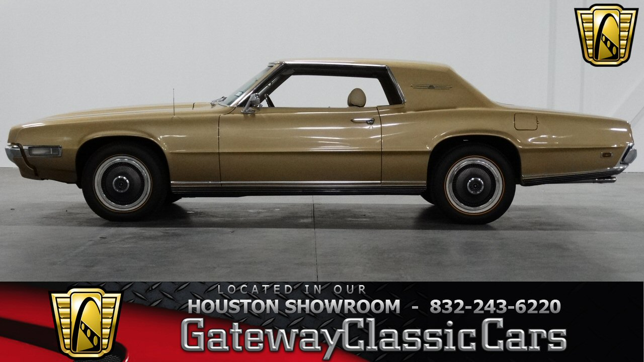 1966 Ford Fairlane 500 With 289 Cubic Inch V8 Engine 1970 Thunderbird Specs 1969 47769 Miles Gold 2 Door 429 Cid Thunderjet C6