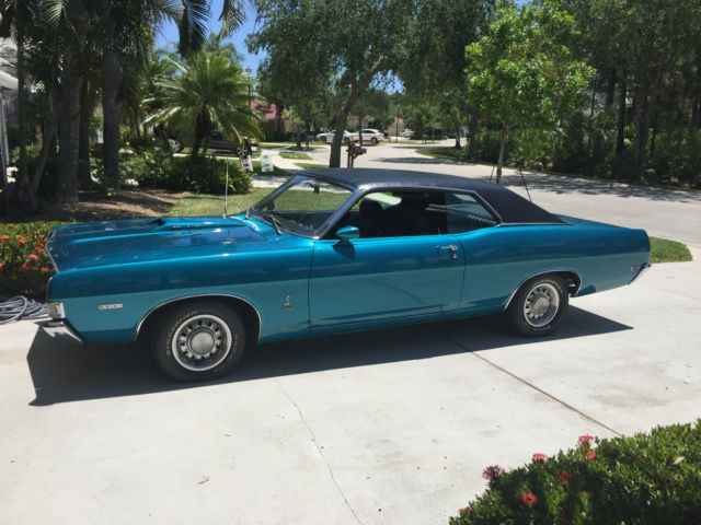 Cobra Jet Mustang >> 1969 Ford Torino Cobra Formal Roof 428 Cobra Jet for sale: photos, technical specifications ...