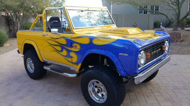 1969 Ford Bronco Leather