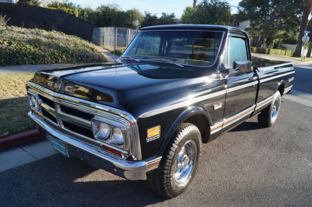 1969 GMC Sierra 2500 396 V8 2500 FULLY LOADED & RESTORED!