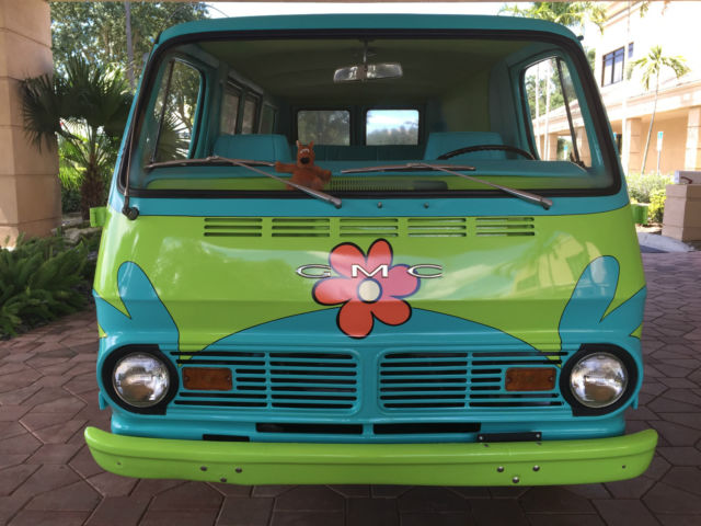 1969 Gmc Van Mystery Machine Scooby Doo Chevy Gm
