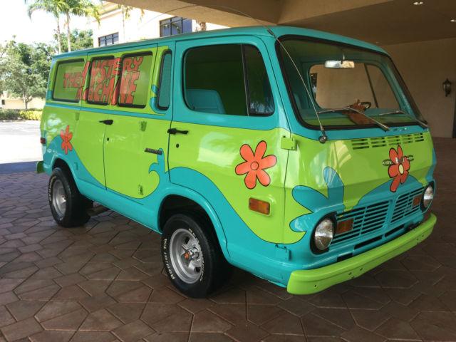 1969 GMC Van,Mystery Machine,Scooby Doo,Chevy,GM ...