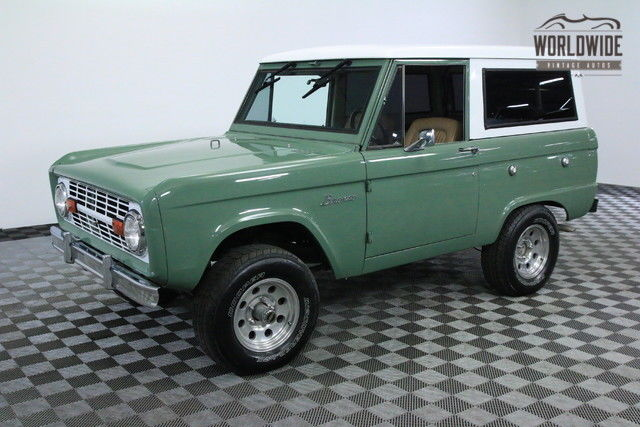 1969 Ford Bronco ARIZONA 2 OWNER BRONCO PS PB UNCUT