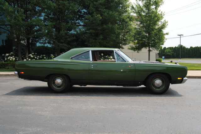 1969 hemi road runner numbers matching super performance axle package