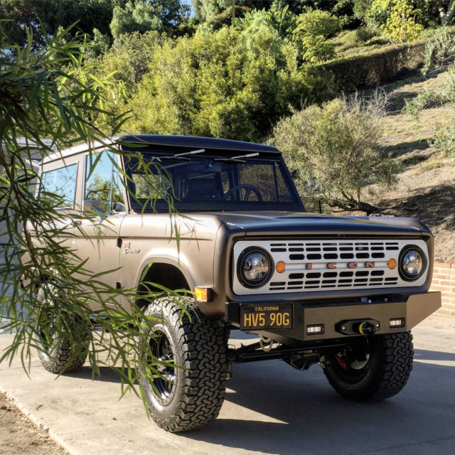 1969 Icon Br 18 Ford Bronco Hard Top For Sale Photos