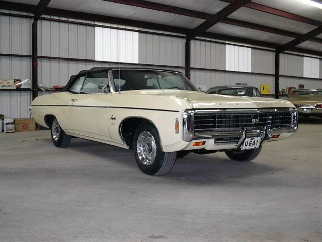 1969 impala 427 ss convertible for sale photos technical specifications description. Black Bedroom Furniture Sets. Home Design Ideas