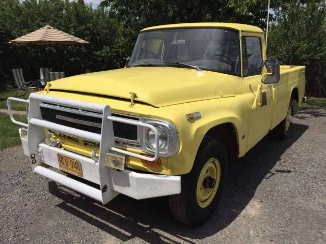 1969 International 4x4 pickup! for sale: photos, technical