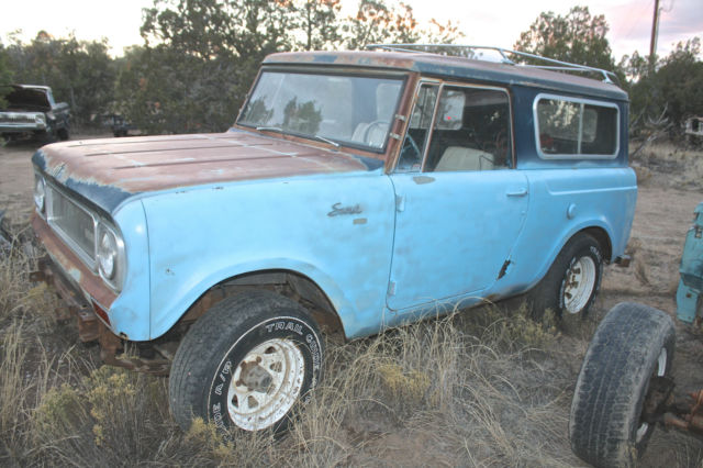 1969 International Harvester Scout ARISTOCRAT