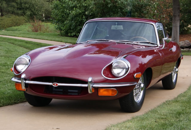 1969 jaguar e type concourse quality for sale photos. Black Bedroom Furniture Sets. Home Design Ideas