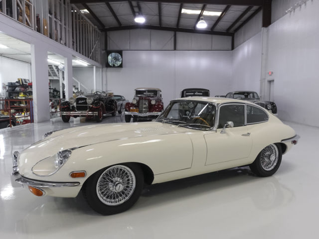 1969 Jaguar E-Type Series II Fixed Head Coupe, ONLY 23,143 MILES!