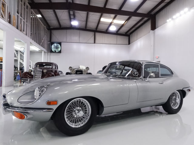 1969 Jaguar E-Type Series II 4.2 Fixed Head Coupe, MATCHING #S ENGINE