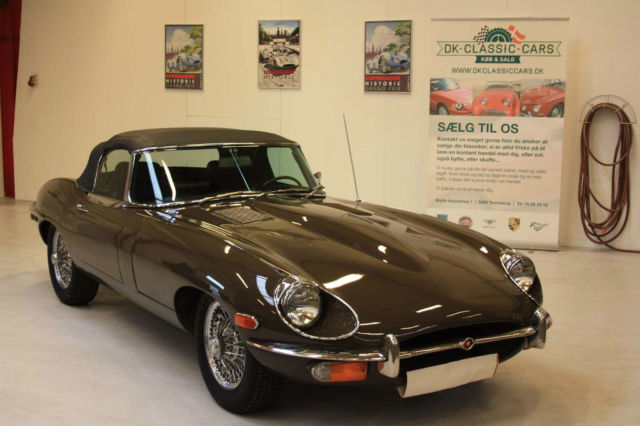 1969 Jaguar E-Type OTS Roadster