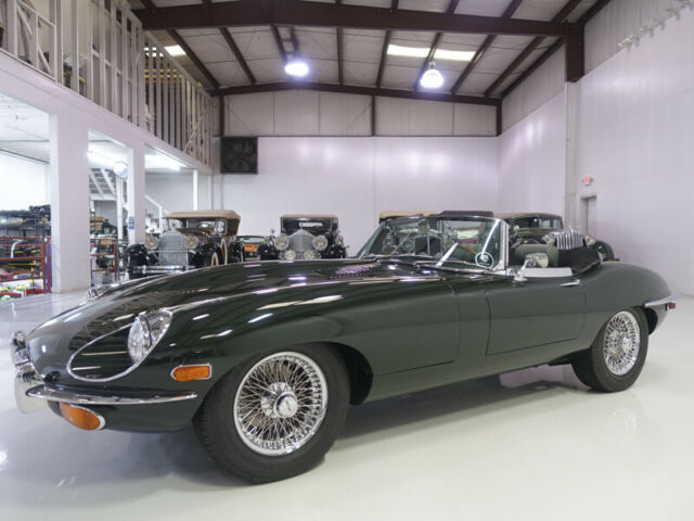 1969 Jaguar E-Type Series II Roadster | Numbers matching | Fully documented