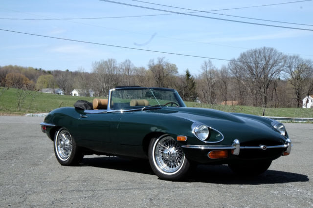 1969 jaguar xke series ii roadster 35 000 original miles. Black Bedroom Furniture Sets. Home Design Ideas