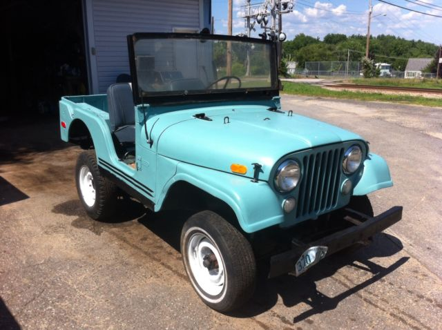 1969 Jeep Cj 5 Kaiser Runs Great For Restoration No