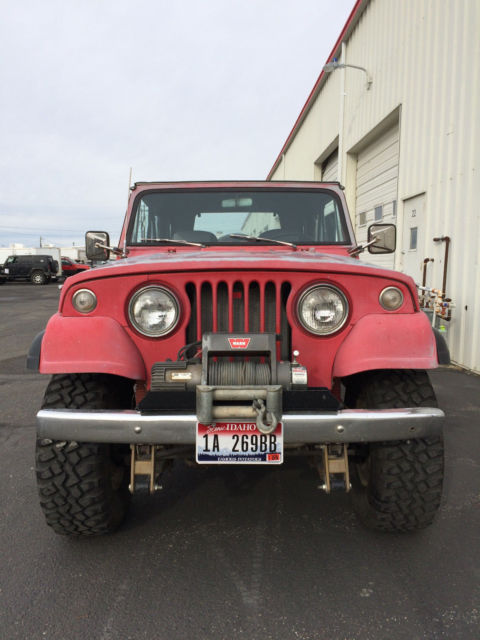 Rancho Shocks Rs5000 >> 1969 Jeep Jeepster Commando V6 for sale: photos, technical specifications, description