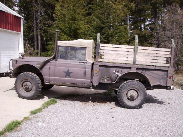 1969 Jeep Kaiser M715 W Winch 4x4 Gladiator Vintage Military Truck