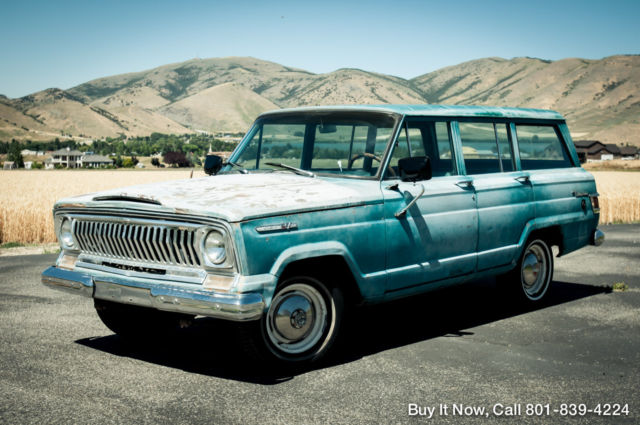 1969 Jeep Wagoneer 1969 WAGONEER 4WD, ORIGINAL BUICK 350 V8 TH400