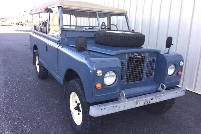 1969 Land Rover Series 2A --