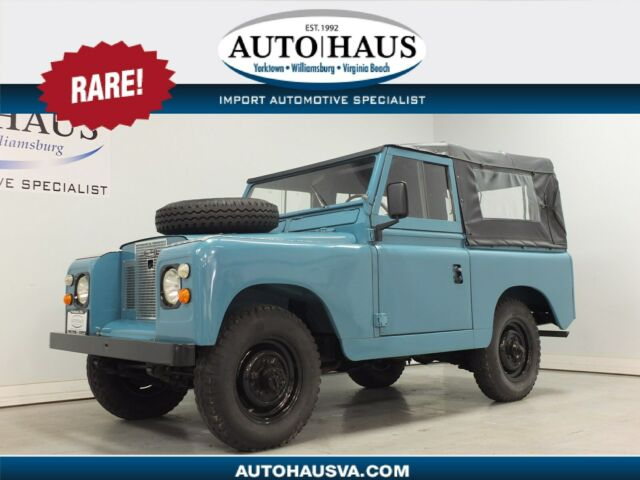 "1969 LAND ROVER SERIES IIA 88""WB - FULLY RESTORED! EXC. CONDITION! NO RESERVE!"