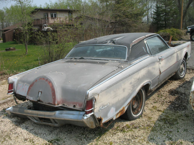 1969 lincoln continental mark 3 for parts for sale photos technical specifications description. Black Bedroom Furniture Sets. Home Design Ideas
