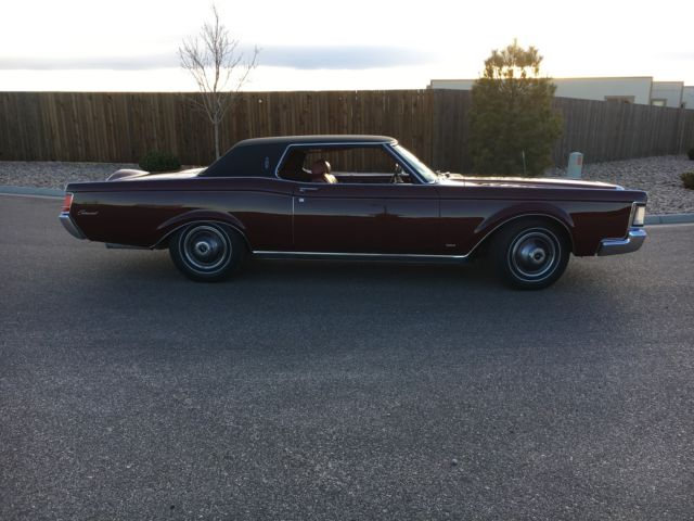 1969 lincoln continental mark iii 460 red leather for sale photos technical specifications. Black Bedroom Furniture Sets. Home Design Ideas