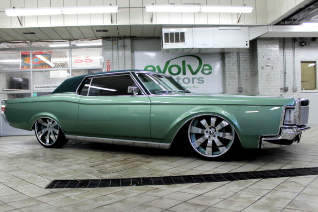 1969 Lincoln Continental Mark Iii Custom Hot Rod Lowrider Lowered