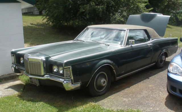 1969 Lincoln Mark Series Continental MKIII