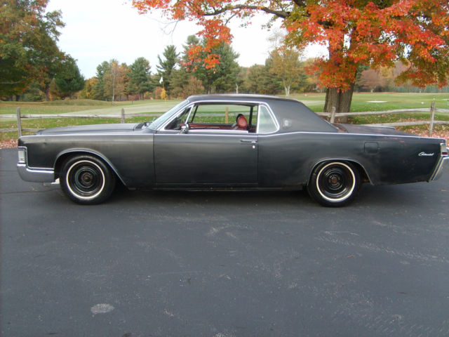 1969 lincoln continental two door rat rod hot rod lincoln. Black Bedroom Furniture Sets. Home Design Ideas