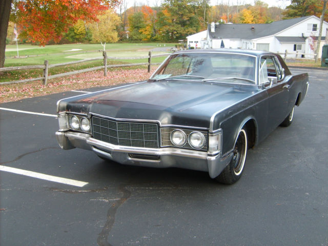 1969 lincoln continental two door rat rod hot rod lincoln 460 v8 for sale photos technical. Black Bedroom Furniture Sets. Home Design Ideas