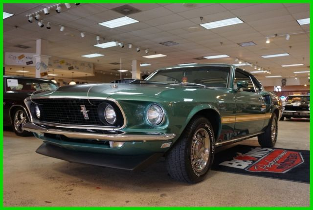 1969 Ford Mustang MATCHING NUMBERS 390 MACH 1