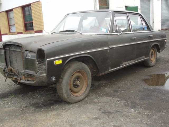 1969 mercedes benz 220d diesel runs clean title for Mercedes benz diesel engines for sale