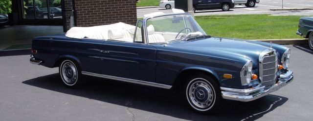 1969 Mercedes-Benz 200-Series 280SE Conv.
