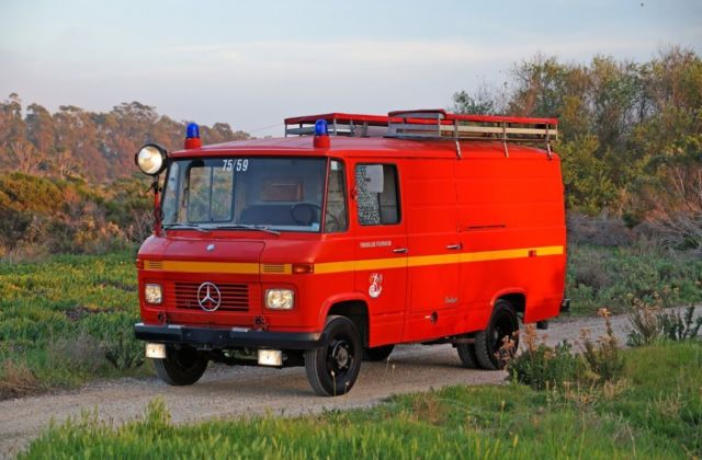 1969 Mercedes-Benz L408 G Well-Preserved Original German Fire Van