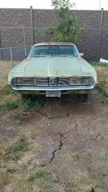 1969 Mercury Cougar base