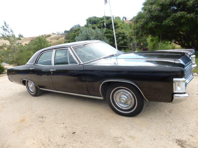 1969 Mercury Monterey 429 V 8 Engine Black 4 Door For