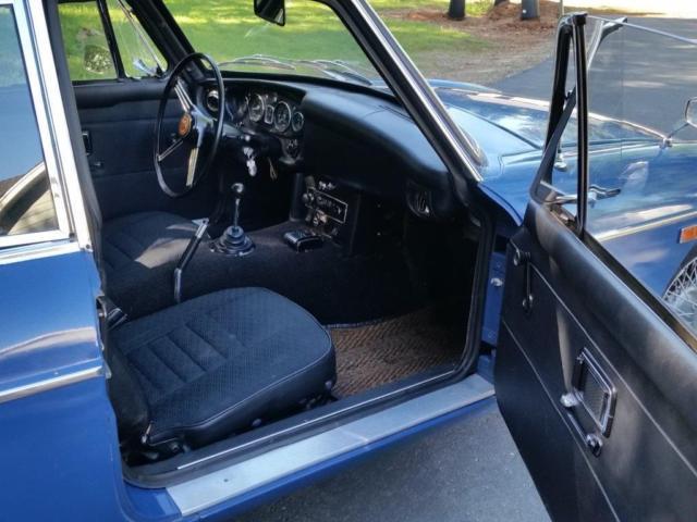 1969 mgb gt 4spd blue w black interior very well upkept car for sale photos technical. Black Bedroom Furniture Sets. Home Design Ideas