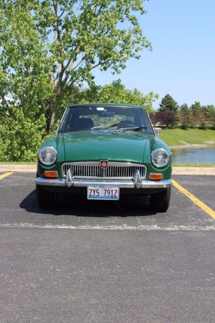 1969 MGB GT - Supercharged, Air conditioned, Overdrive for