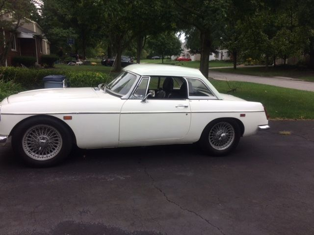 1969 MGC with overdrive and matching hardtop for sale